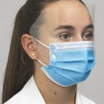 MK-1010 Premium Ear-loop mask w-shield