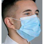 """Diffuser"" Anti-Fog Dual Fit Ear-Loop Face Mask (Pleated)"