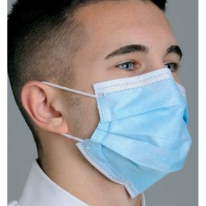 """Diffuser"" Anti-Fog Dual Fit Ear-Loop Face Mask (Pleated)"