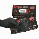 Blackjack Powder-Free Textured Latex Gloves