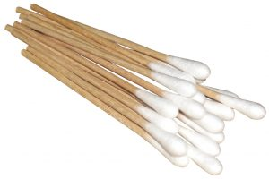 Cotton Tipped Applicators - closeup
