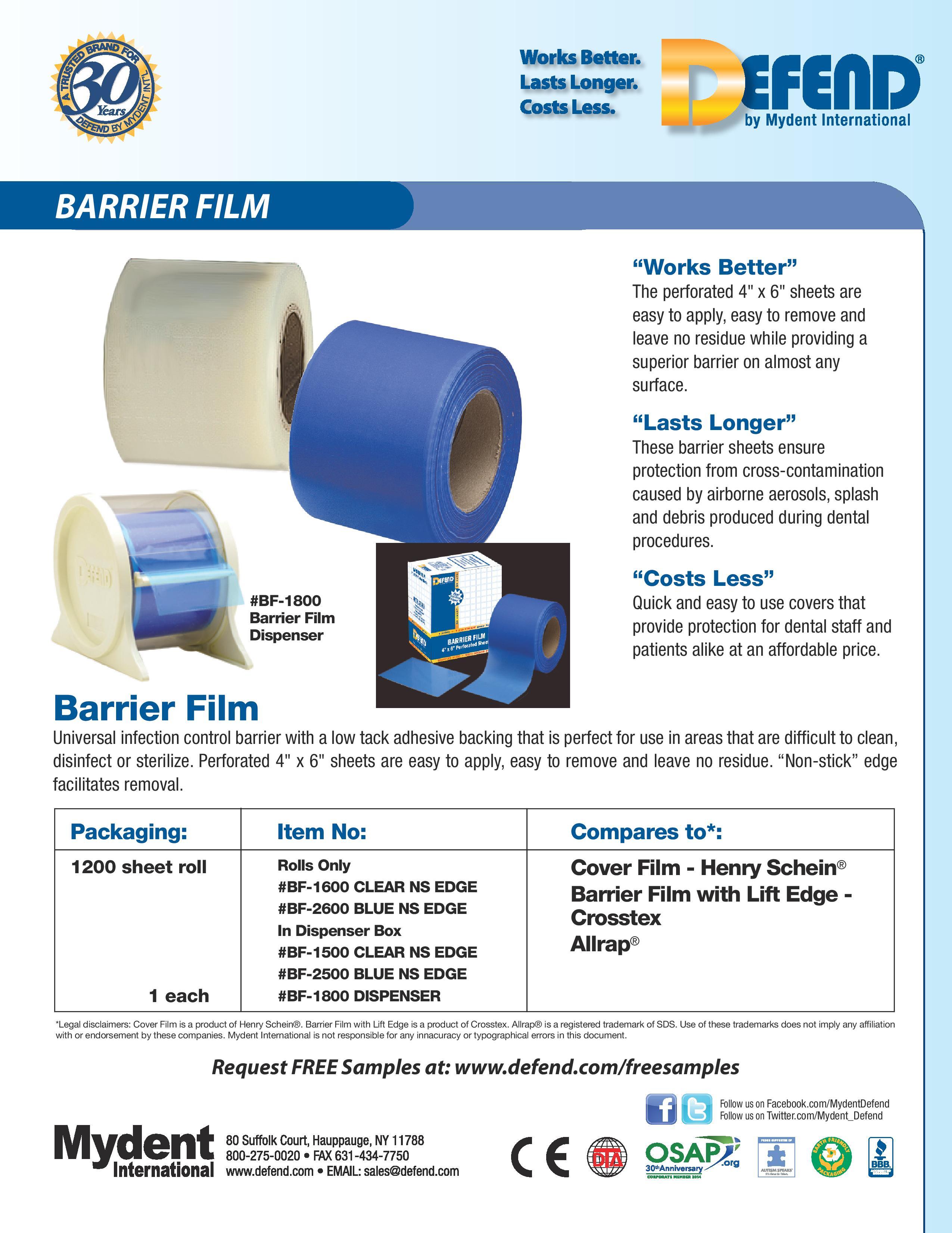 Defend Barrier Film