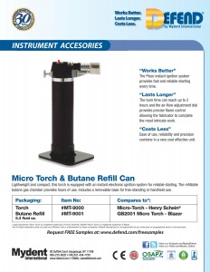 Defend Micro Torch & Refill