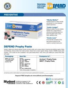 Defend Prophy Paste