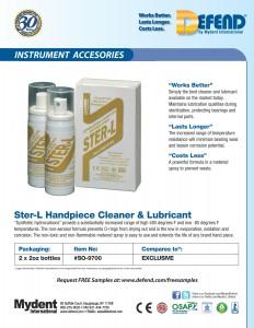 Defend Ster-L Handpiece Cleaner