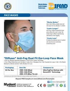 Diffuser Dual Fit Ear-Loop Face Mask