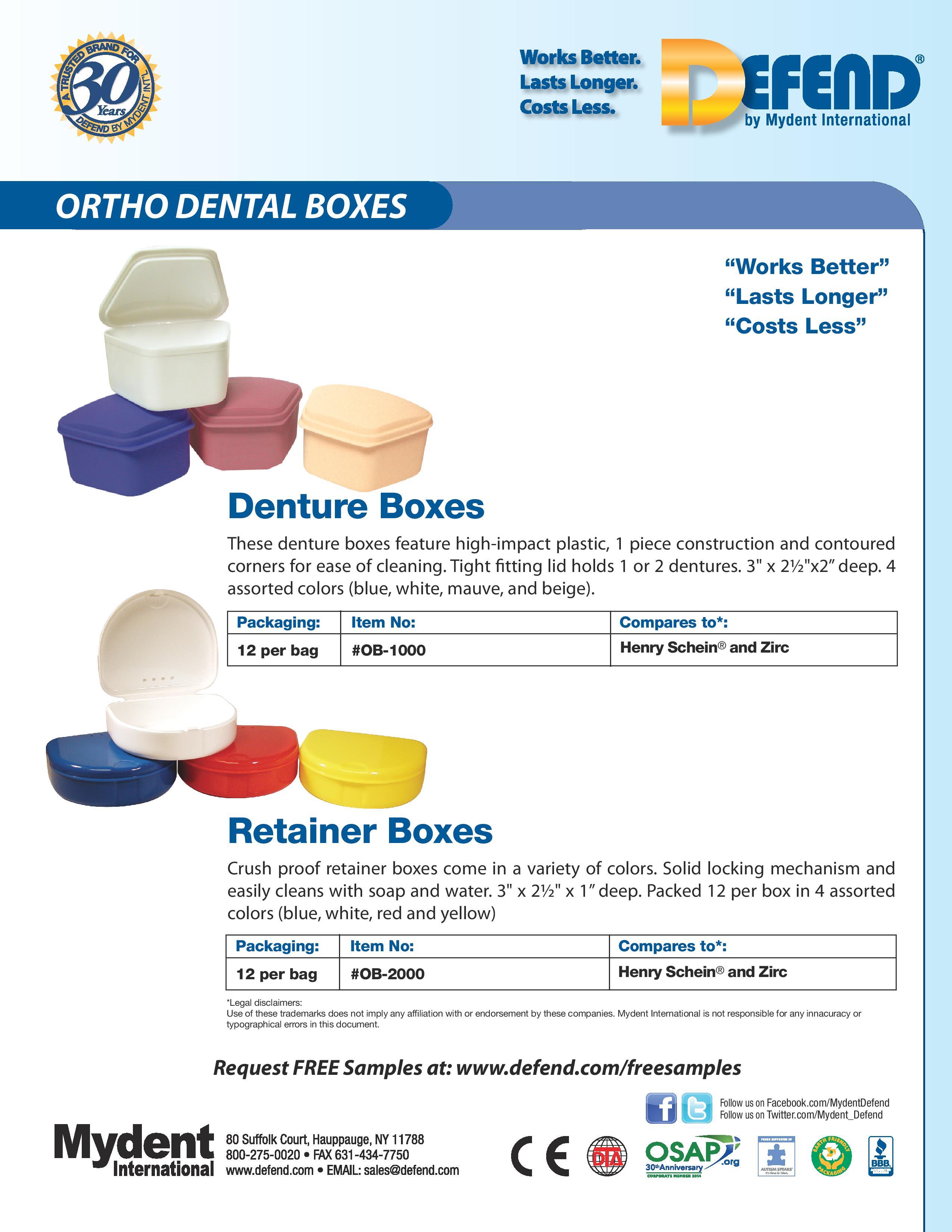 Ortho Dental Boxes