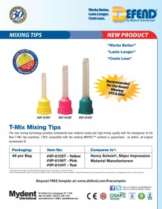 T-Mix Mixing Tips
