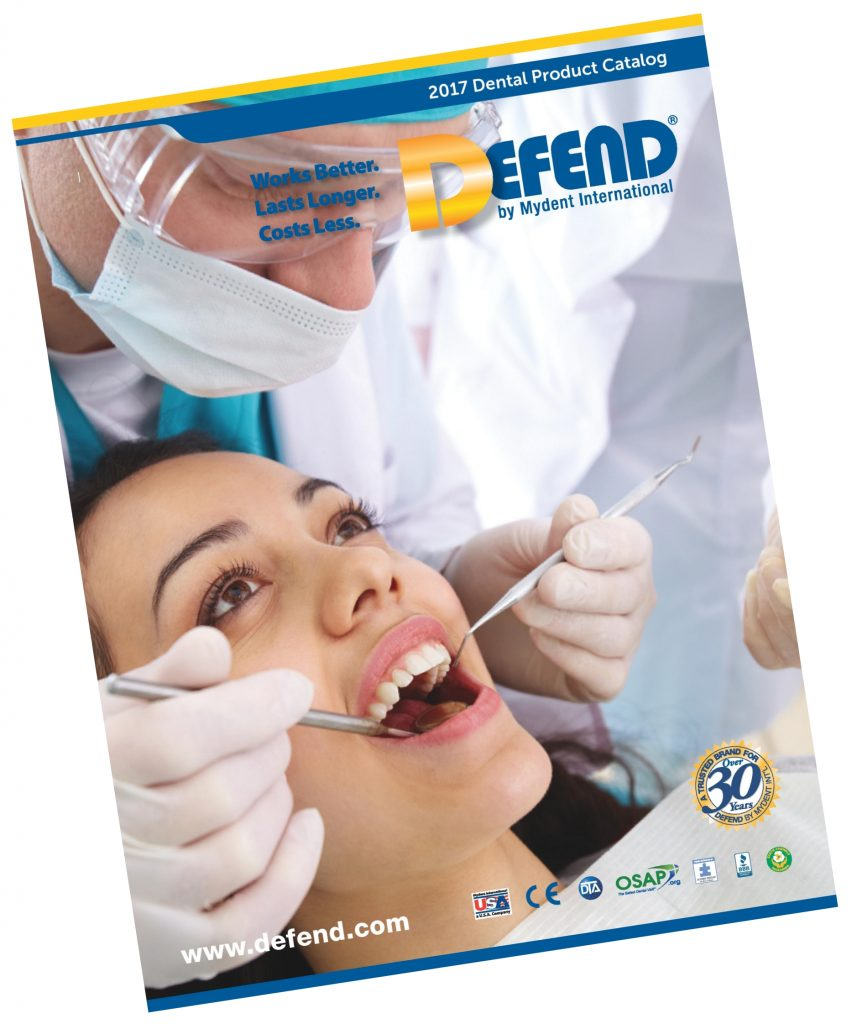 DEFEND Product Catalog - Dental Supplies | DEFEND by Mydent