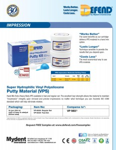 Defend VPS Putty Material