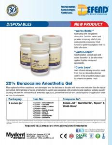 Benzocaine Anesthetic Gel