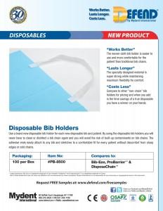 Disposable Bib Holder