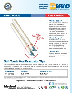 Soft Touch Oral Evac Tips
