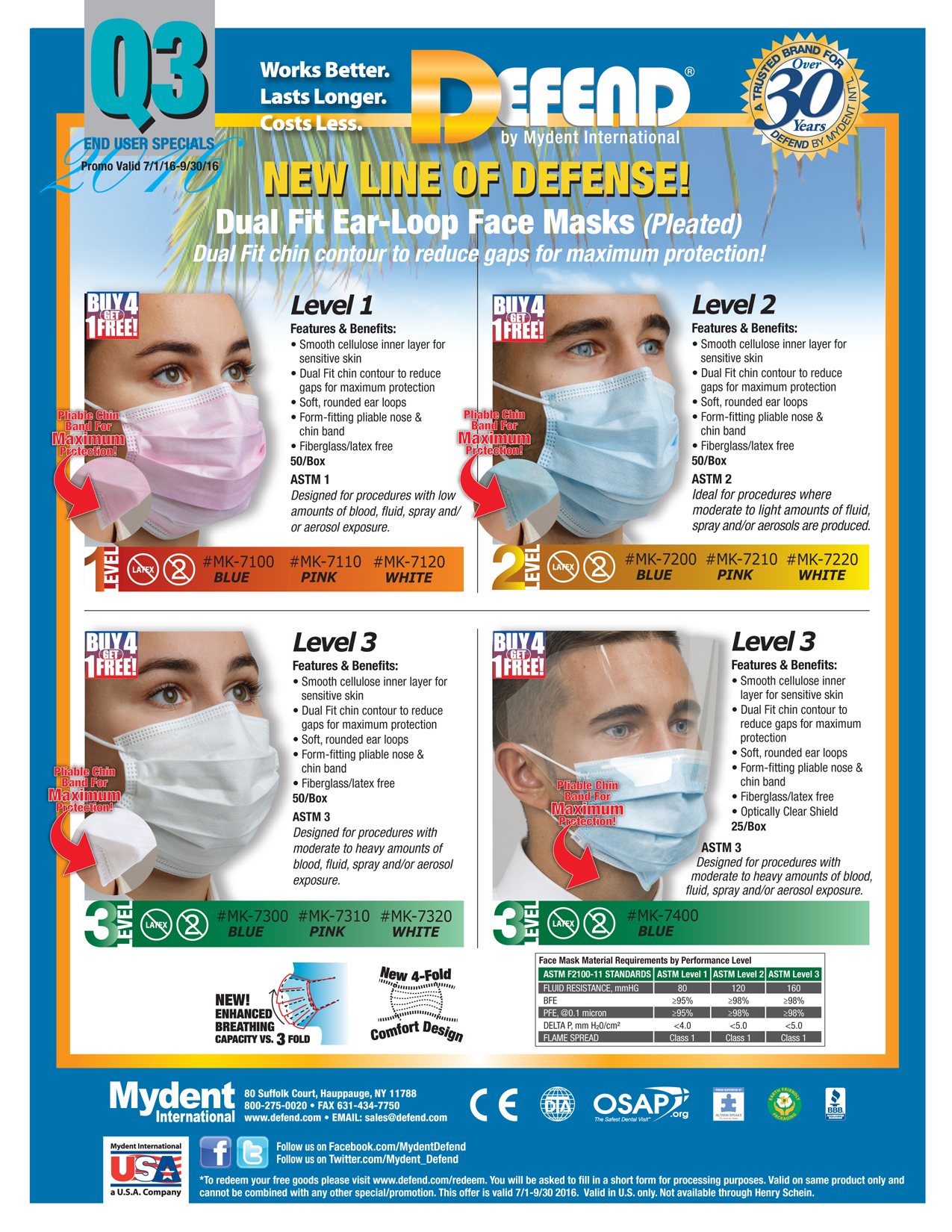 DEFEND 3Q Specials Promotion 2015