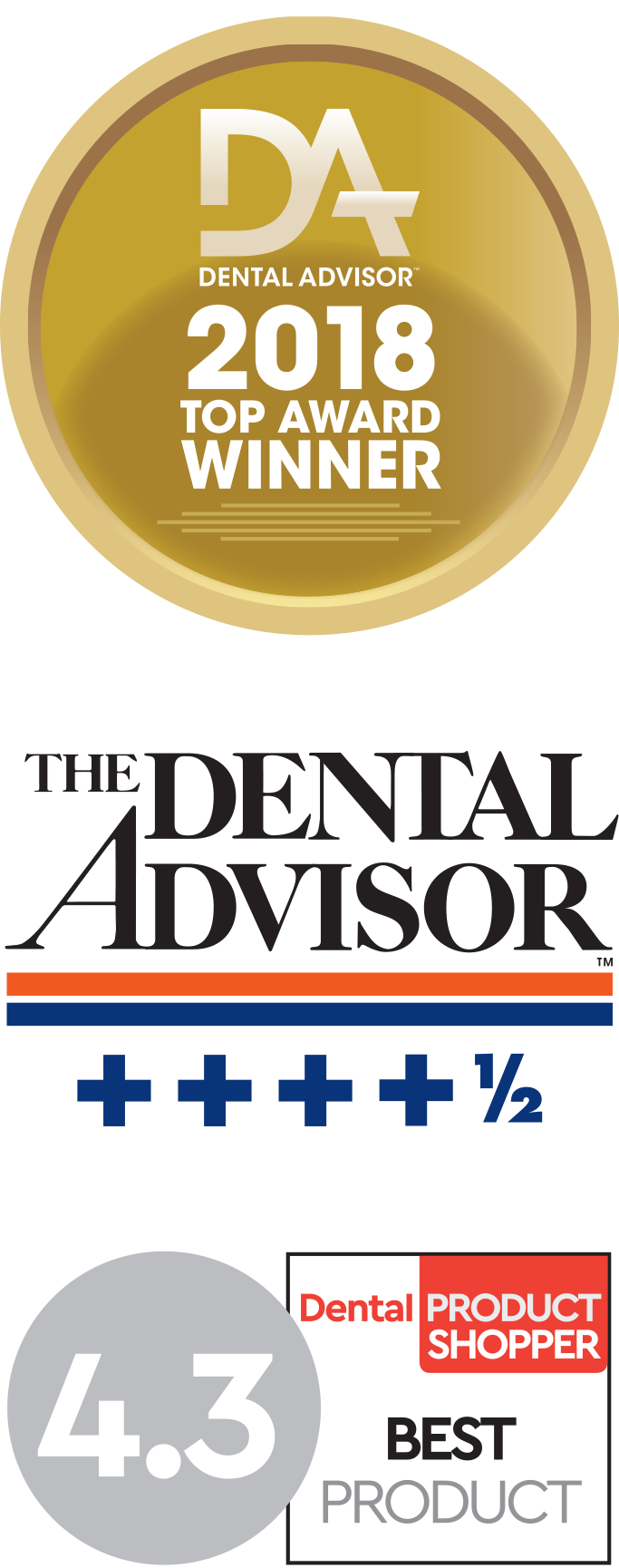 dental advisor and dental product shopper awards
